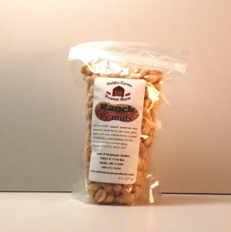 Snider Farms - Ranch Peanuts Bag
