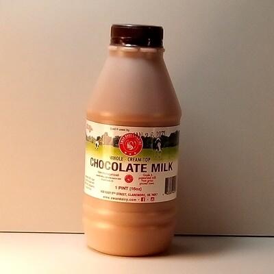 Swan Bros. - Chocolate Milk - Pint