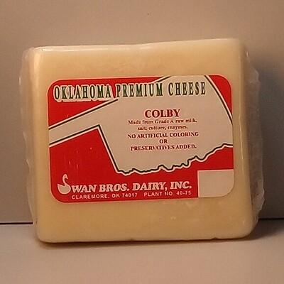 Swan Bros. - Colby Cheese - 8oz. Block