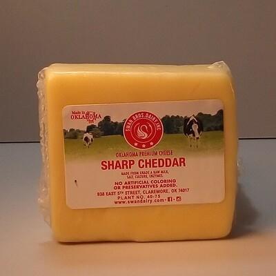 Swan Bros. - Sharp Cheddar - 8oz. Block
