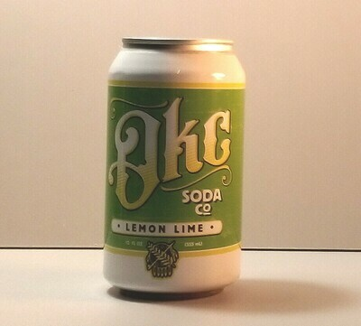 OKC Soda - Lemon Lime - 12 fl. oz. can