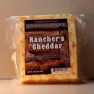 The Cheese Factory - Rancher's Cheddar - 8oz.