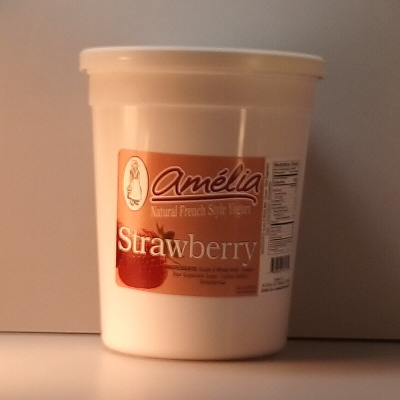 Amelia Strawberry Yogurt - 30oz.