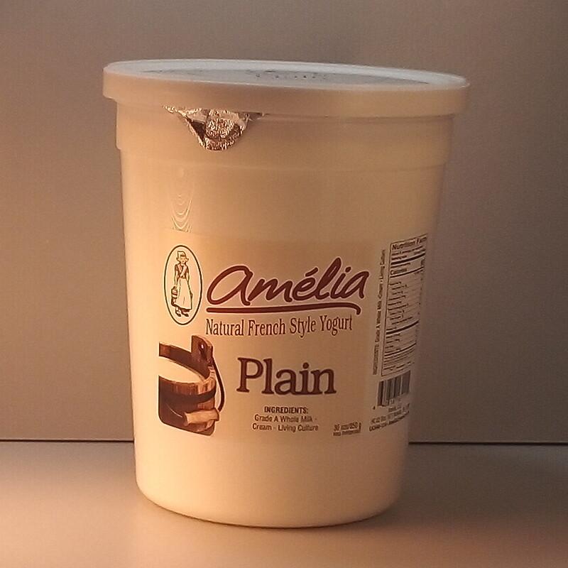Amelia Plain Yogurt - 30oz.