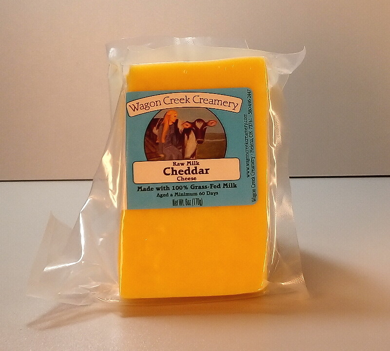 Wagon Creek - Raw Milk Cheddar