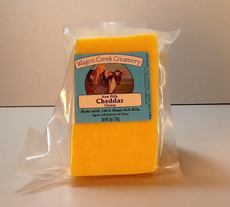 Wagon Creek - Raw Milk Cheddar