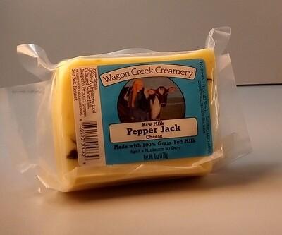 Wagon Creek - Raw Milk Pepper Jack