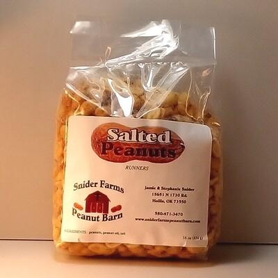 Snider Farms - Salted Peanuts - 16 oz. Bag