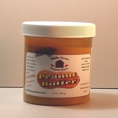 Snider Farms - Salted Peanut Butter - 16 oz.