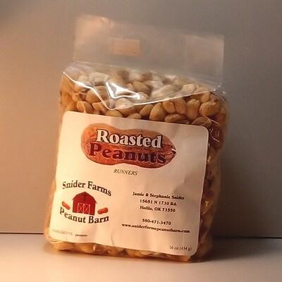 Snider Farms - Roasted Peanuts - 16 oz. Bag