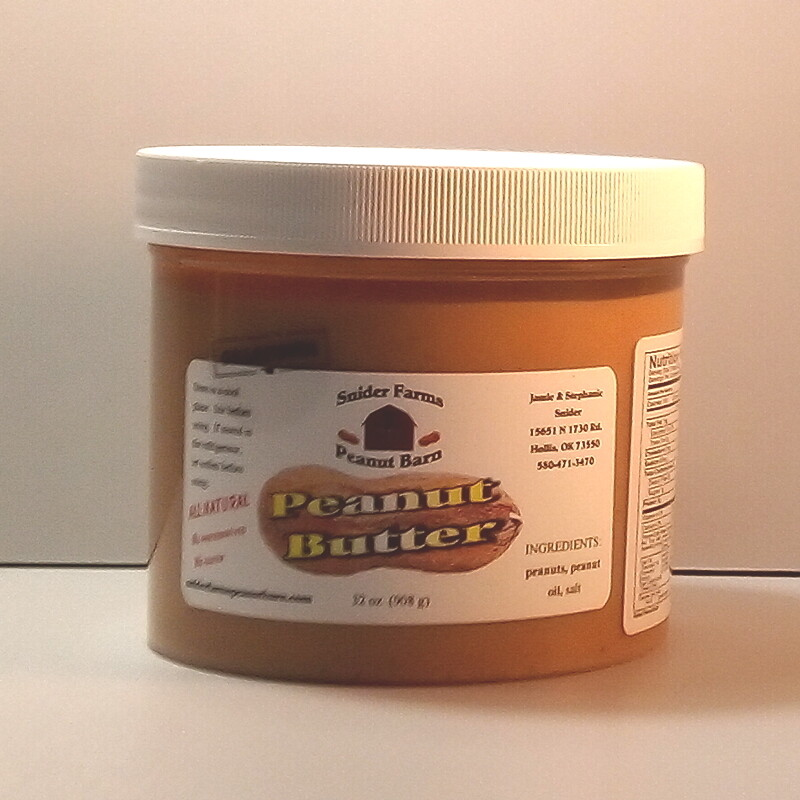 Snider Farms - Salted Peanut Butter - 32 oz.