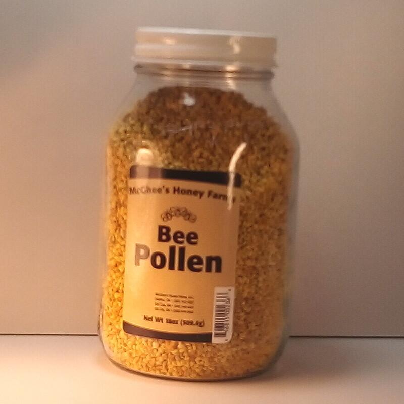 McGhee Honey - Bee Pollen - 18oz. jar