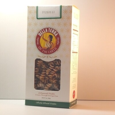Della Terra - Fusilli Whole Wheat - 12 oz. box