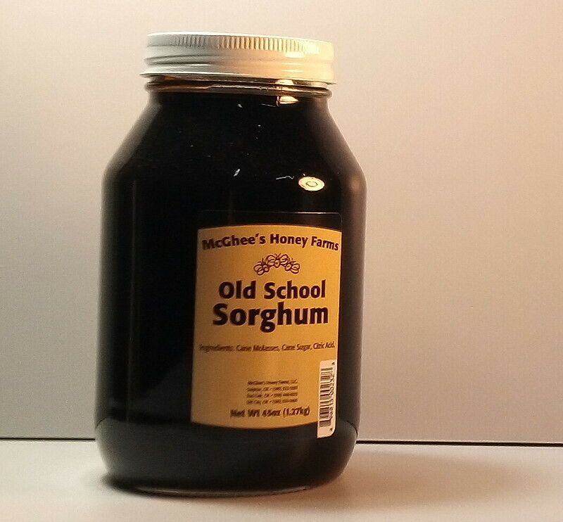 McGhee Honey - Old School Sorghum - 32oz. jar