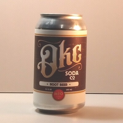 OKC Soda - Root Beer - 12 fl. oz.