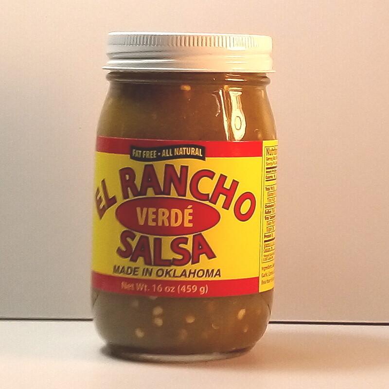 El Rancho - Verde Salsa - 16oz. jar