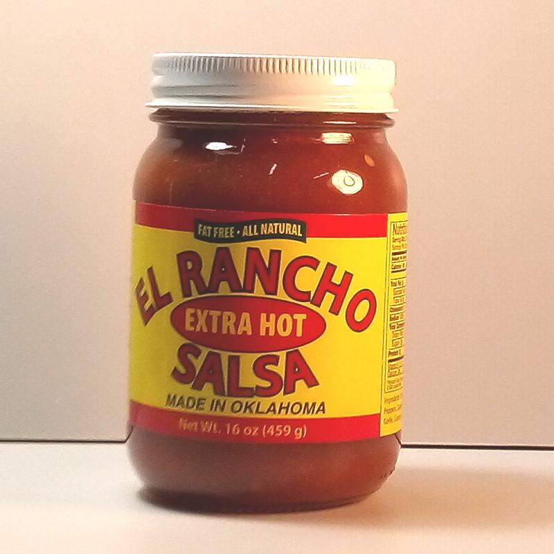 El Rancho - Extra Hot - 16oz. jar