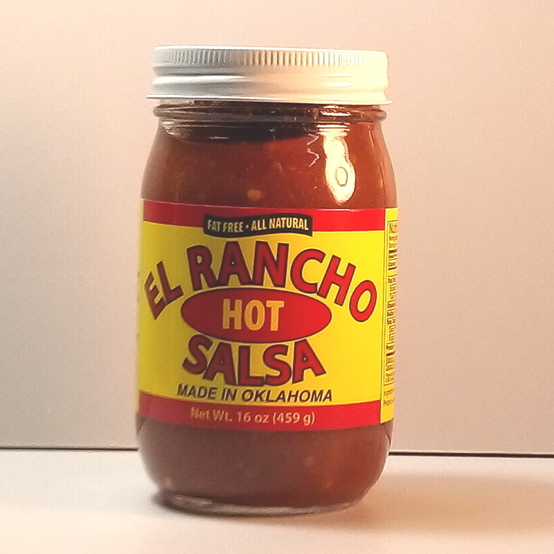 El Rancho - Hot - 16oz. jar