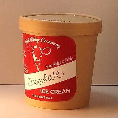 Red Ridge Creamery - Chocolate Ice Cream - 1 pint