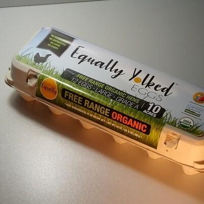 Equally Yoked - Organic  Eggs - Dozen