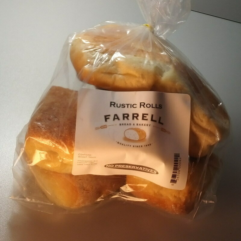 Farrell Bread - Rustic Rolls (6 pack) - 1lb.