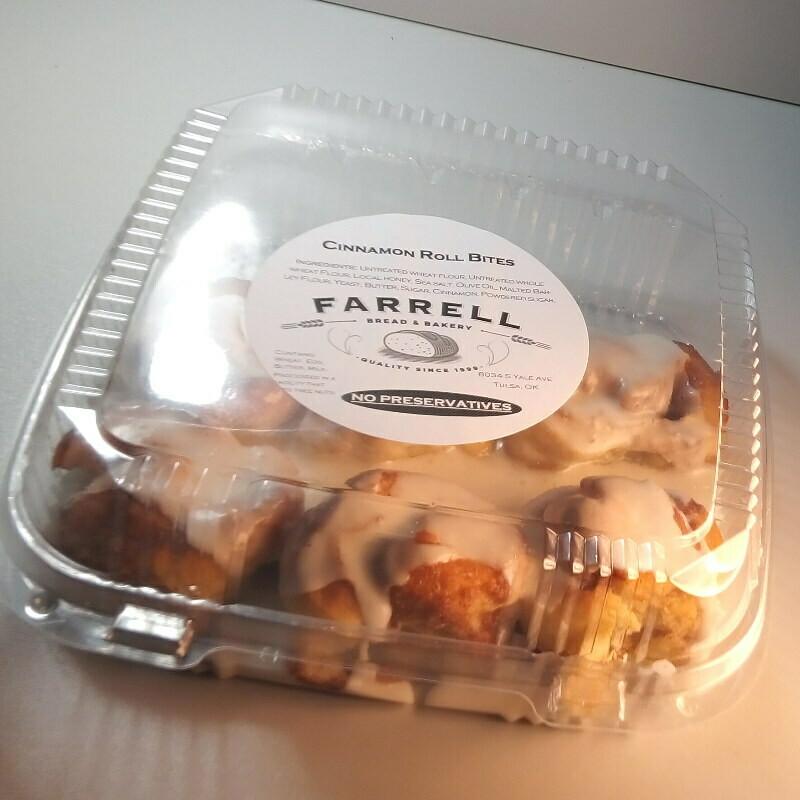 Farrell Bread - Cinnamon Roll - Bites