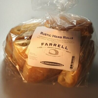 Farrell Bread - Rustic Herb Rolls (6 pack) - 1lb.