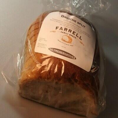 Farrell Bread - Brioche Split - ~1.37-1.8 lbs.