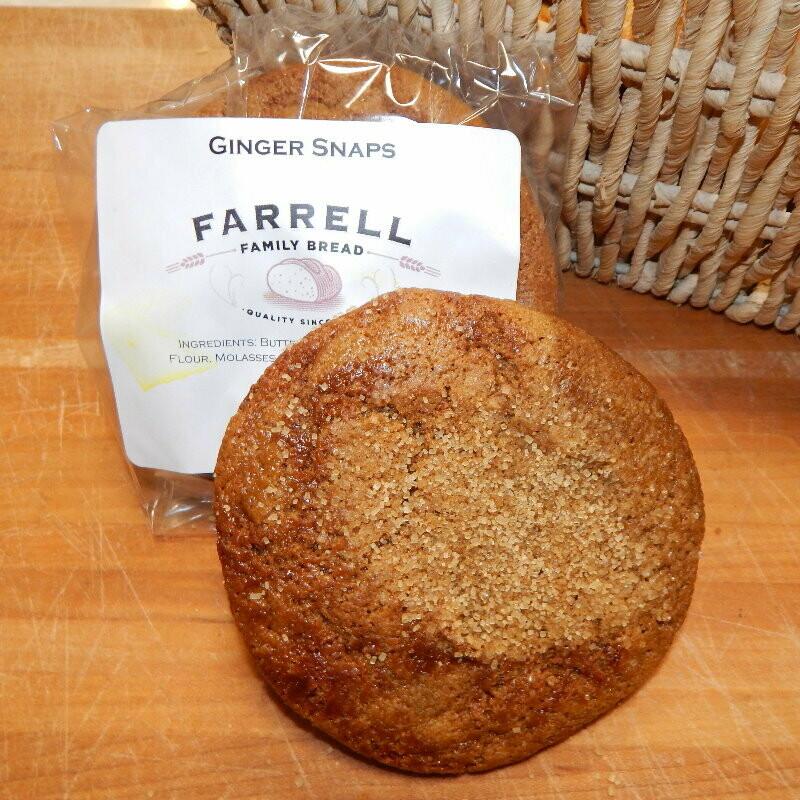 Farrell Bread - Ginger Snap Cookies - 4 pk.