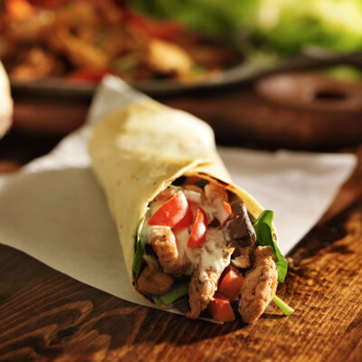 SAMPLE. Carne Asada Burrito