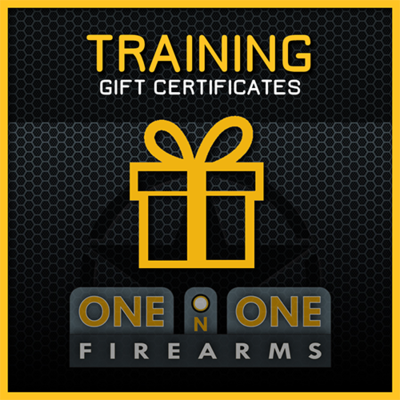 TRAINING GIFT CERTIFICATES $250