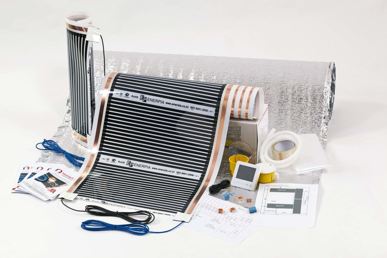 MASTER KIT, Underfloor Heating Film for under Laminate & Wood
