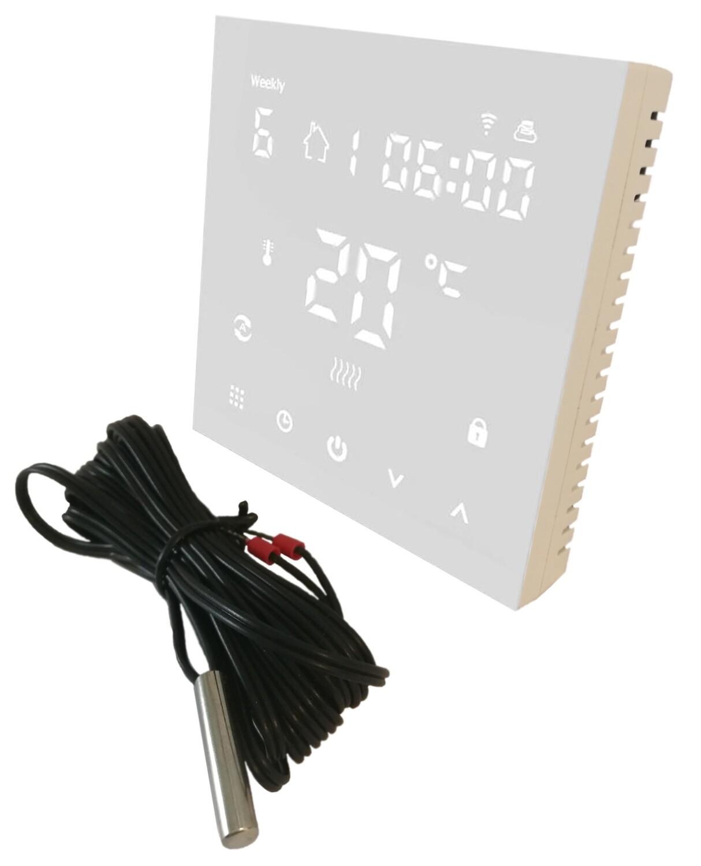 Thermostat HY607, programmable 7 days, WiFi, 16A, 230V