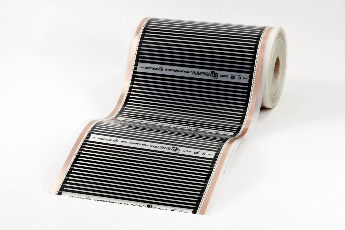 Heating Film, DAEWOO ENERPIA, 80W/sqm, 220-240V,  width 50cm, Korea