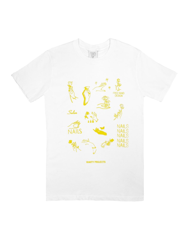 Nails T-shirt (Yellow)