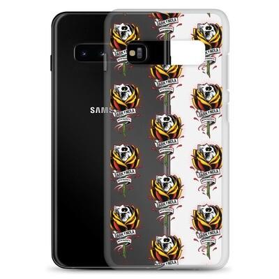 Rose Skull AOP Samsung Case