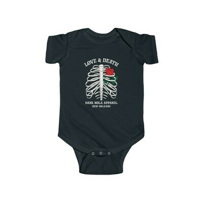 Love and Death Infant Bodysuit