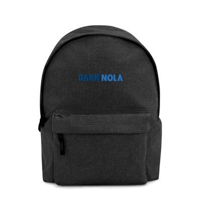 Dark Nola Embroidered Backpack