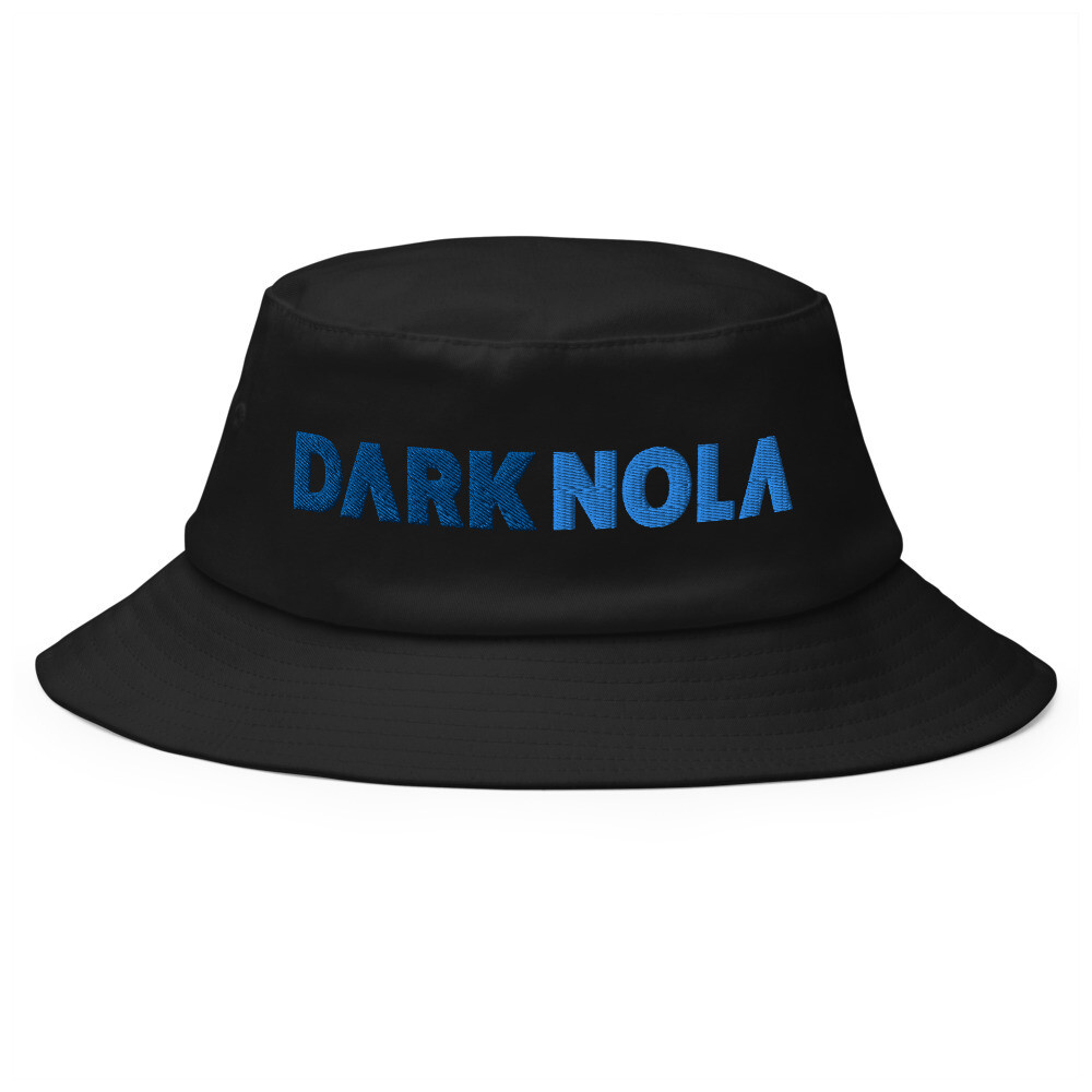 Dark Nola Old School Bucket Hat