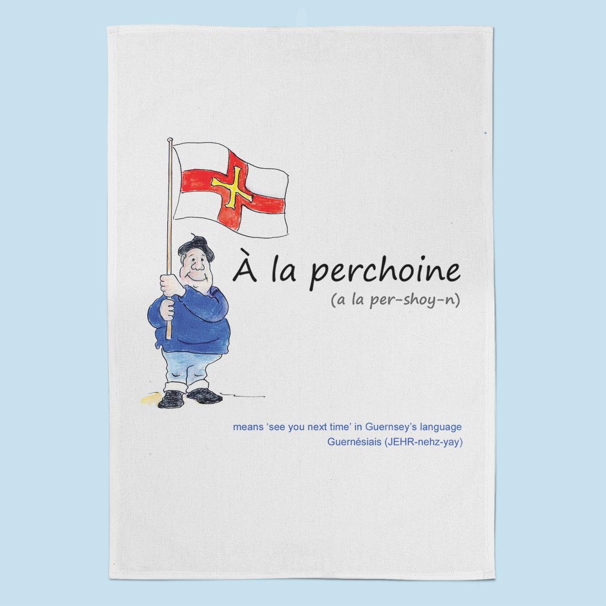 A La Perchoine Tea Towel