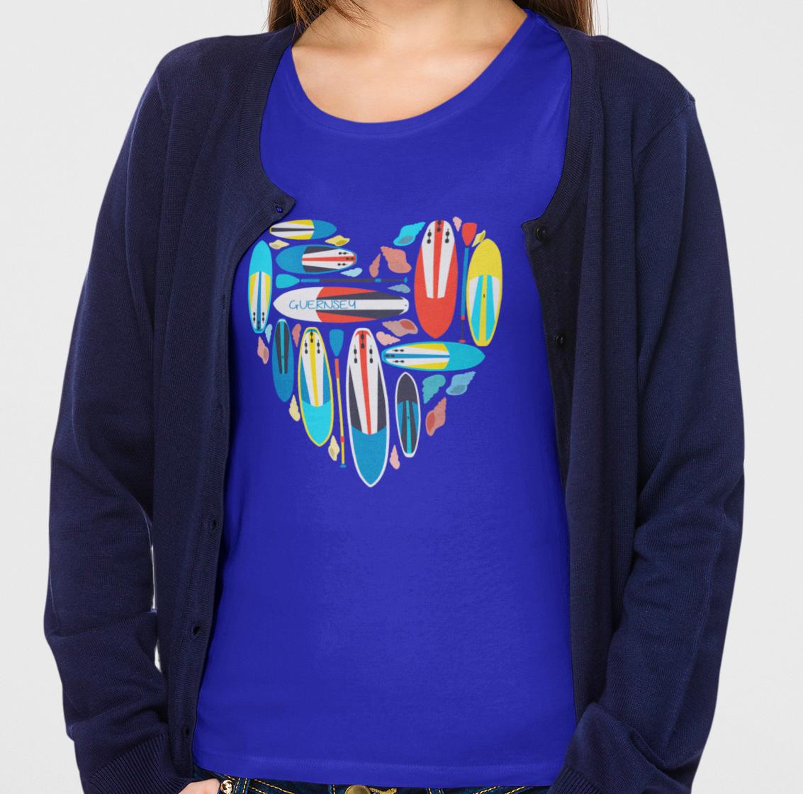 Paddleboard Ladies T-Shirt