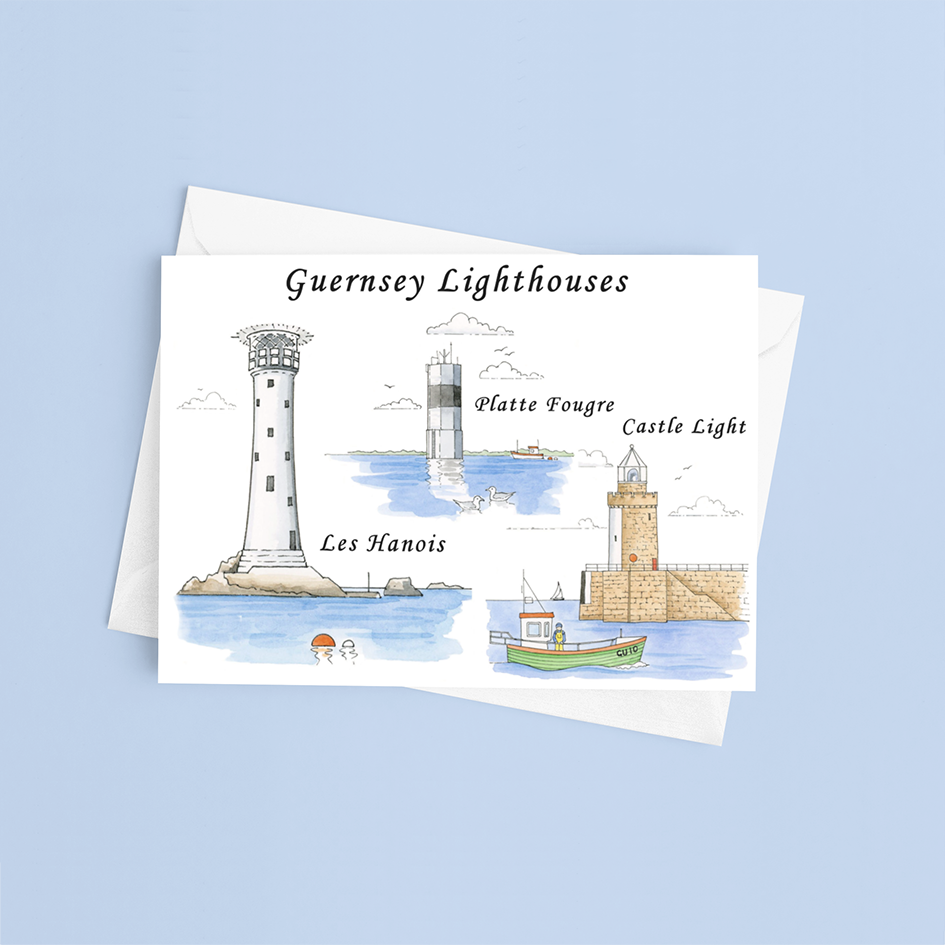 Lighthouses Greeting Card