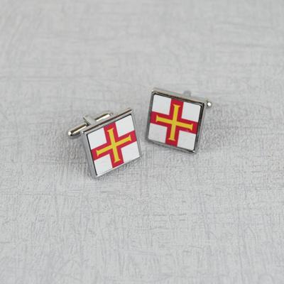Guernsey Flag Cufflinks
