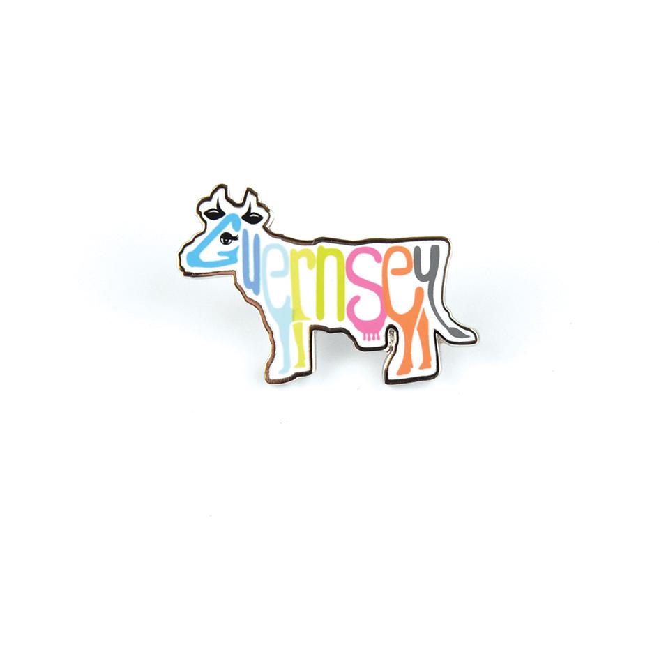 Guernsey Cow Pin Badge