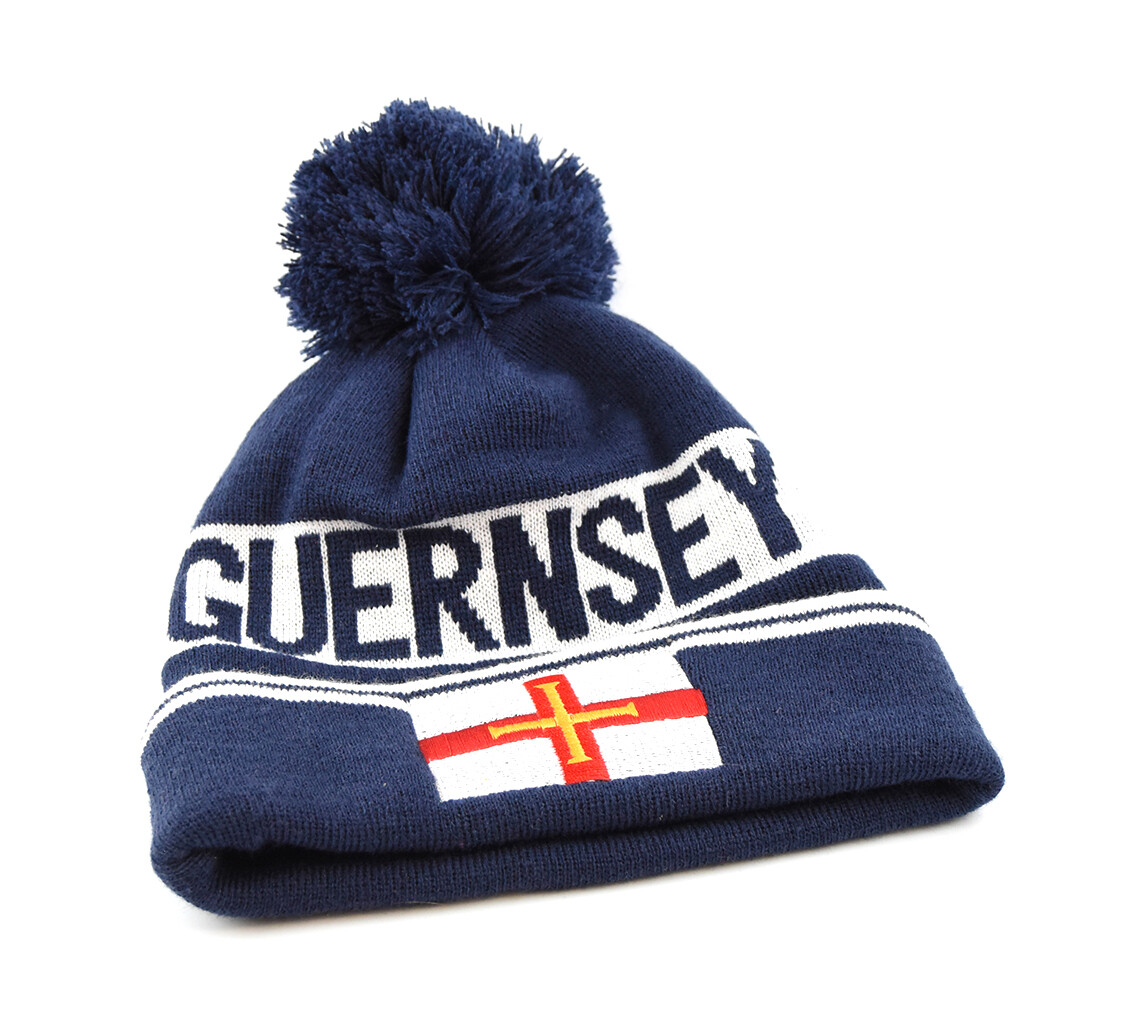 Guernsey Flag Woolly Hat