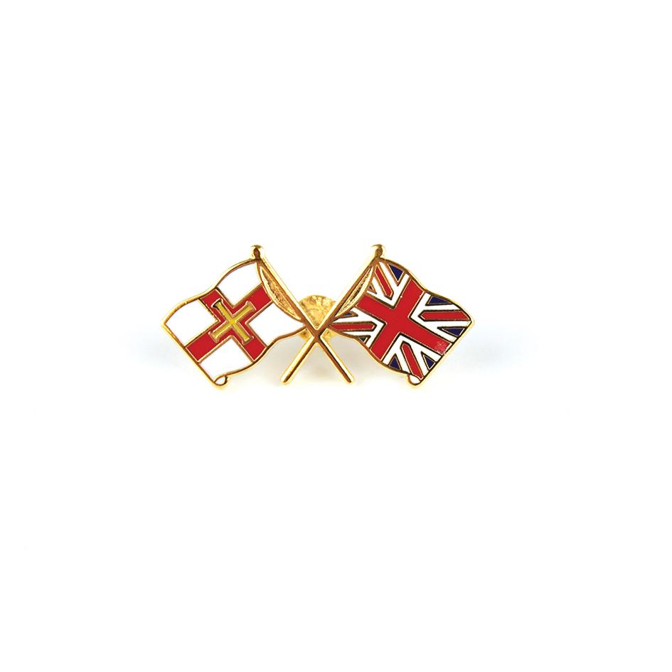 Flags Pin Badge