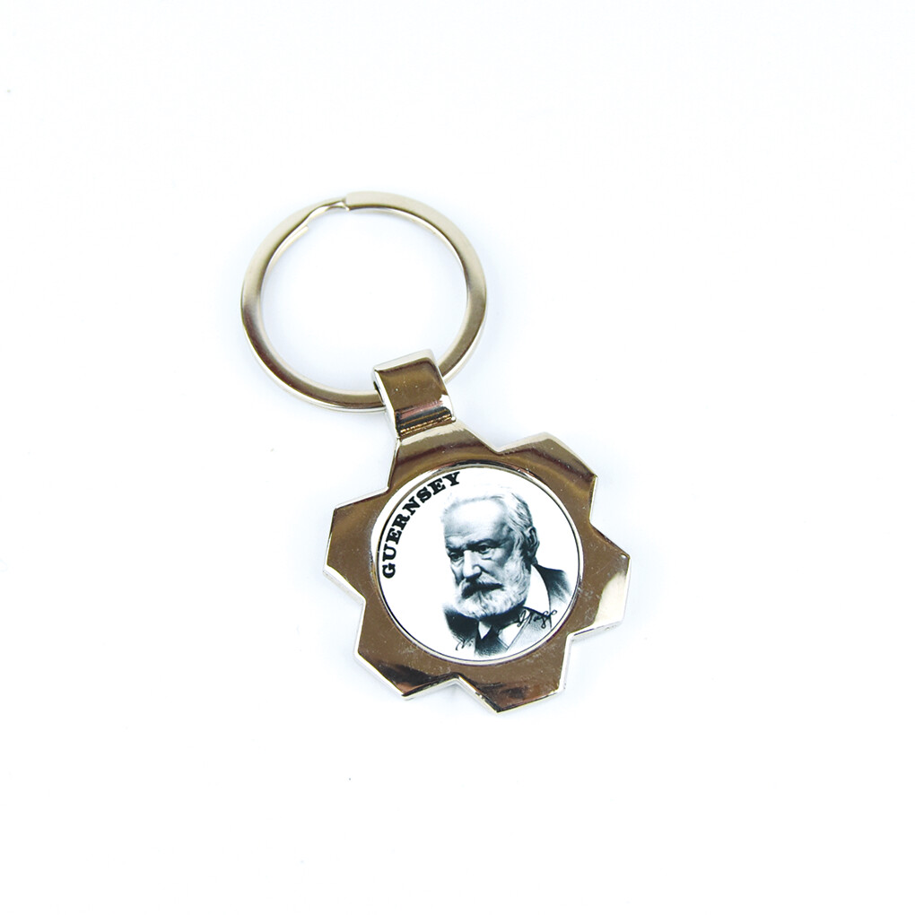 Victor Hugo Metal Keyring