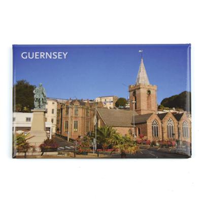 Town Church Photo Magnet