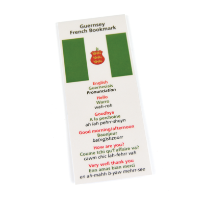 Guernsey French Magnetic Bookmark