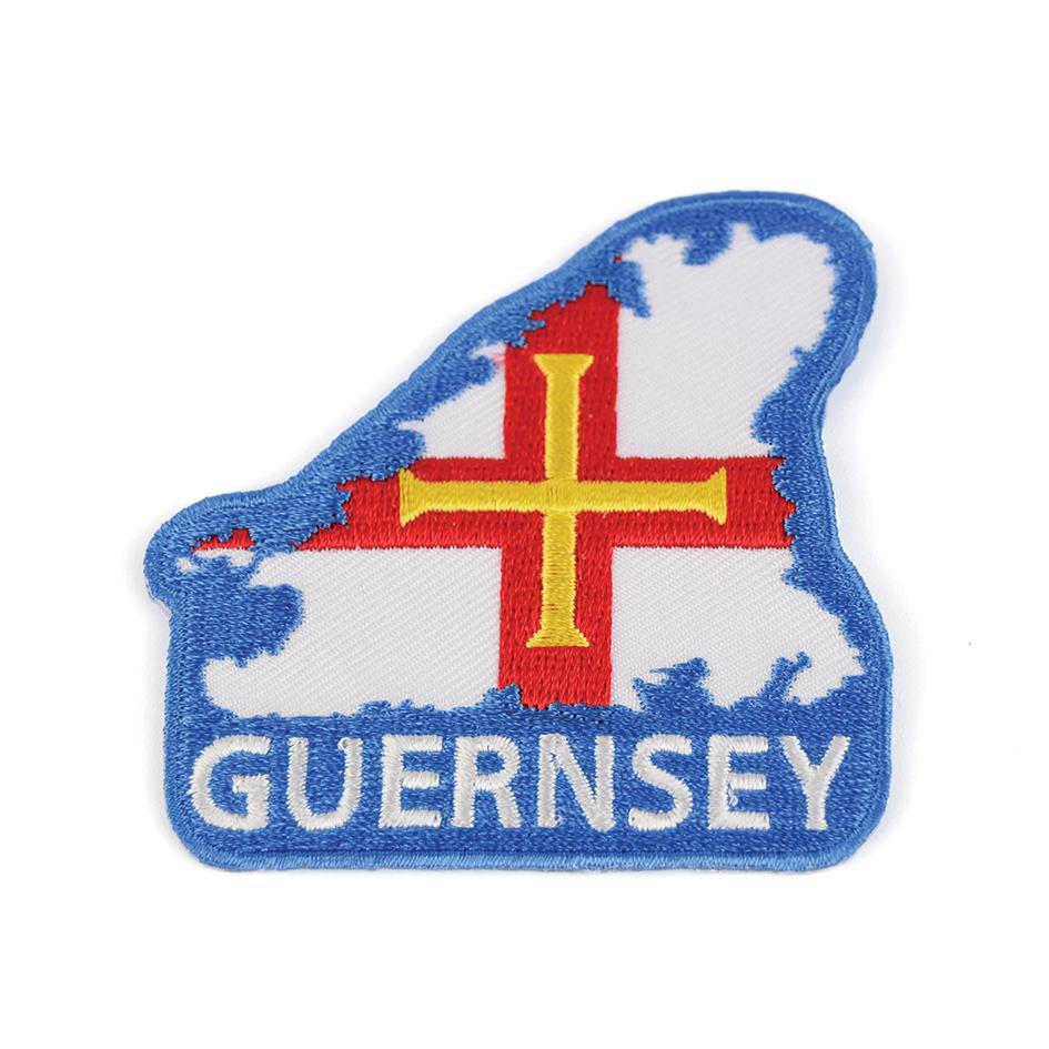 Island Embroidered Badge